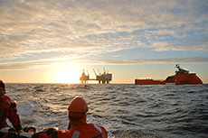 Norwegian oil and gas production figures May 2014