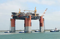 Marine Contracting completes floating production platform move