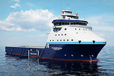 Design contract for arctic platform supply vessels