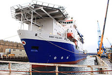 Babcock Rosyth completes oil and gas support vessel contract