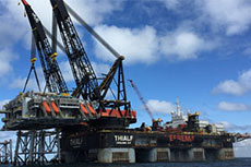 BP reports: first Clair Ridge topside modules safely installed