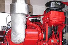Caterpillar engine powers Garraf oilfield production facility