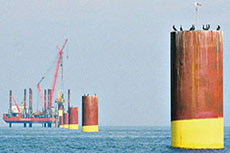 Offshore wind shows strong growth