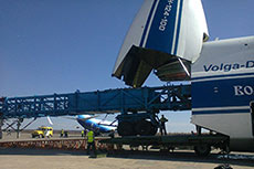Volga-Dnepr extends its oil and gas capability to load drilling rig