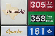 Apache opens CNG station