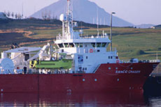 Switching to larger seismic workboats