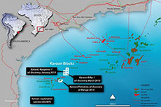 Karoon Gas Australia hits oil in Santos Basin