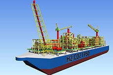 New FPSO design developed by MHI & Chiyoda approved by ClassNK