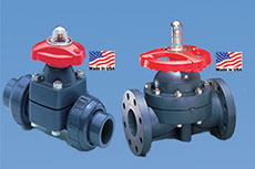 Diaphragm valves: Made in the USA