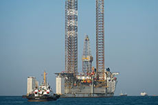 Valiant Driller jack-up completes move from Indonesia to India