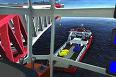 Kongsberg Maritime to supply offshore heavy lift crane simulator