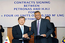 Hyundai to build 4 LNG carriers