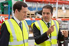 Bibby Offshore welcomes George Osborne