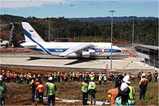 PNG LNG airfield complete