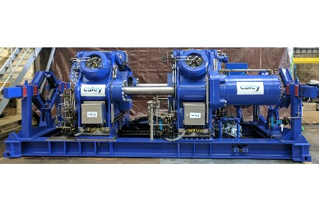 Caley Ocean Systems designs new pipe press for weldless operations