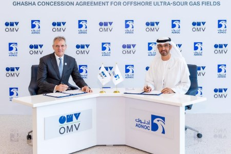 OMV and ADNOC signed upstream concession agreement for a 5% stake in