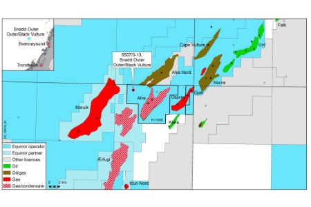 Equinor and partners make oil and gas discovery in Norwegian Sea