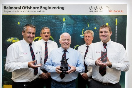 Balmoral Offshore receives industry awards