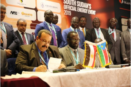 South Sudan and Egyptian National Petroleum Corp. sign MoU