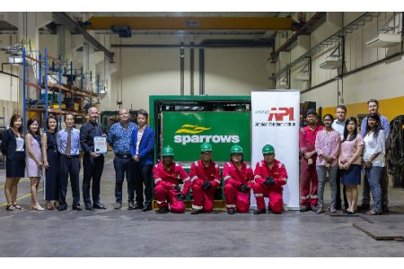 Sparrows Singapore awarded API Q2 certification