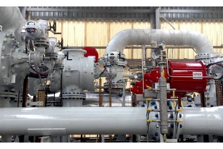 Rotork actuators used for oil and gas flow control on Brazilian FPSO