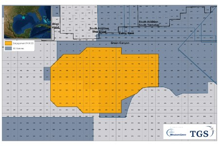 TGS and Schlumberger to undertake Gulf of Mexico survey