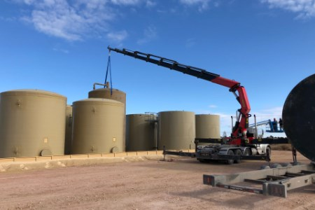 W&W Energy Services launches Knuckle Boom Crane Truck