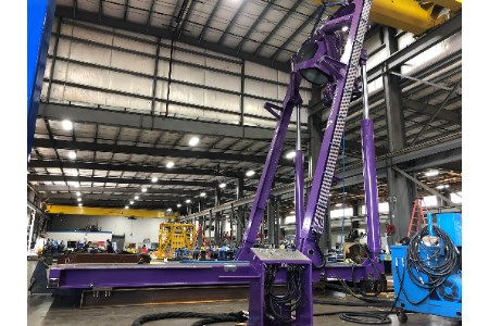 Logan Industries builds ROV A-frame for TechnipFMC for use in Gulf of Mexico