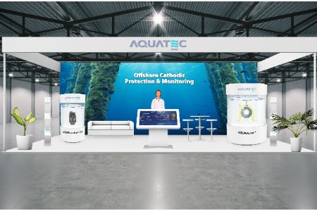 Aquatec creates virtual booth to showcase offshore cathodic protection technology