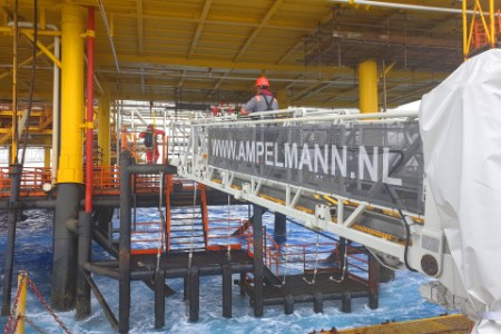 Ampelmann and Brunei Shell Petroleum extend collaboration in Asia Pacific
