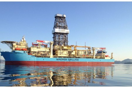 Maersk Drilling awarded three-well contract offshore Angola
