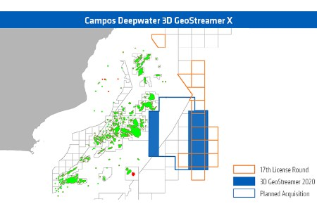 PGS resuming Campos Basin seismic survey in December