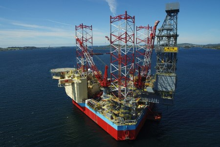 Maersk Drilling secures two-well contract for low-emission rig with Aker BP