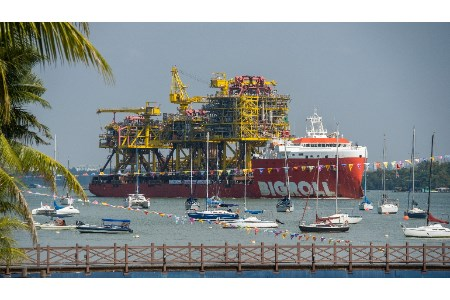 Sembcorp Marine delivers facilities for Tyra field