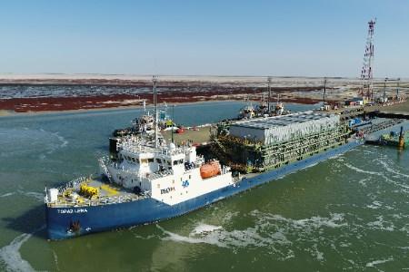P&O Maritime Logistics completes project support for Tengiz oilfield development